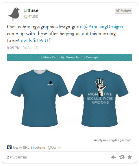Litfuse Publicity Tees