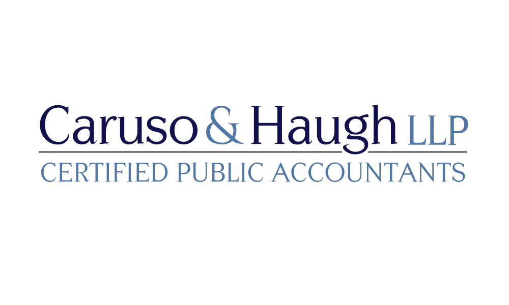 Caruso & Haugh Logo Development by Simply Amusing Designs