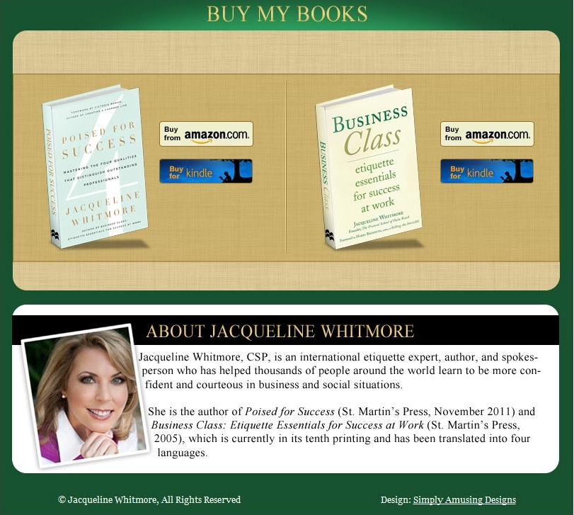 Jacqueline Whitmore Book Page for Facebook